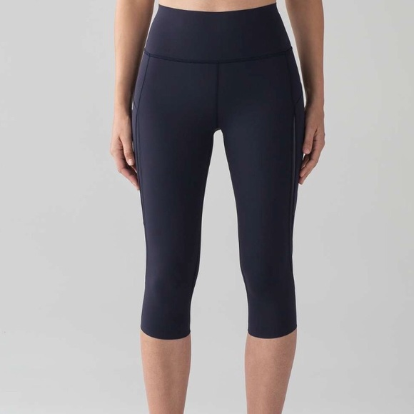 4afe26ba11 lululemon athletica Pants | Lululemon Pace Perfect Crop Leggings 17 ...